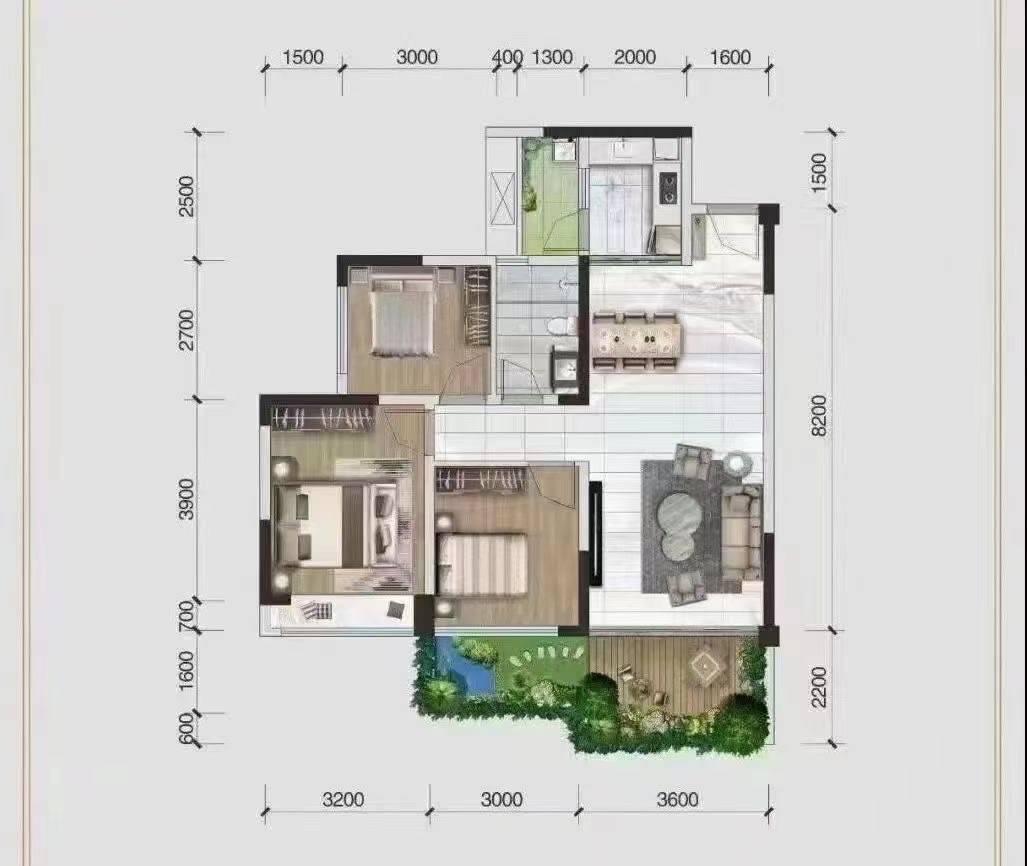 由于客户征信问题,现退出一套滨江新区3室电梯小区房,一口价38.88万,可按揭,看房电话13330910643